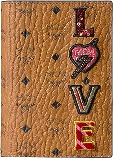 MCM Women's Love Patch Visetos Passport Holder