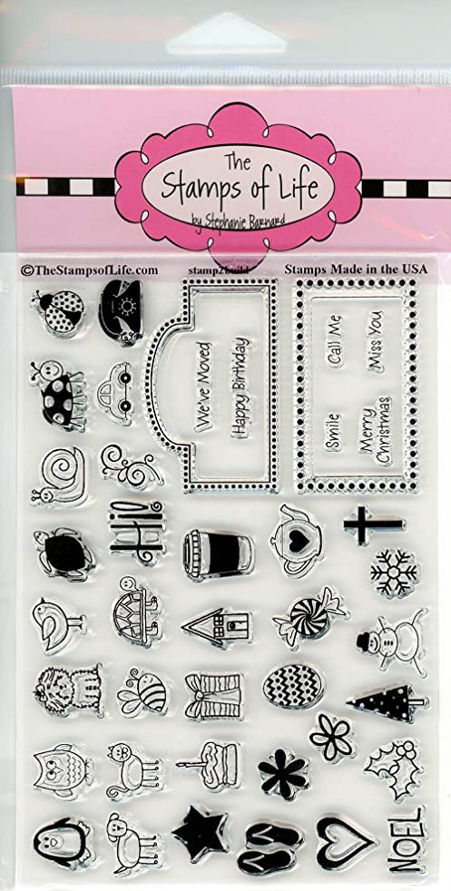 Everyday Variety Clear Stamps for Scrapbooking and Card-Making by The Stamps of Life - Stamp2Build