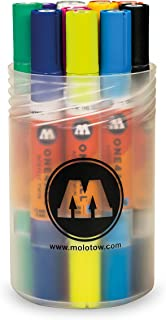 Molotow : One4All : Acrylic Twin Marker : 1.5mm and 4mm Nib : Basic Set of 12