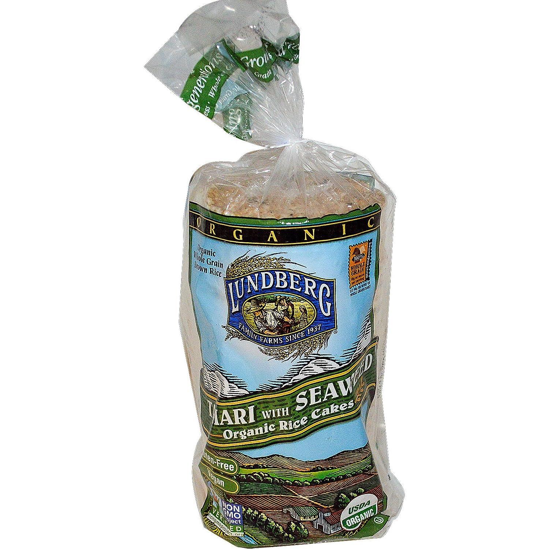 Lundberg Tamari with Seaweed Organic Rice Pack Sale Cheap SALE Start item of Cakes 8.5 oz