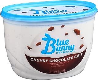 Blue Bunny Frozen Ice Cream, Chunky Chocolate Chip, 48 Ounces