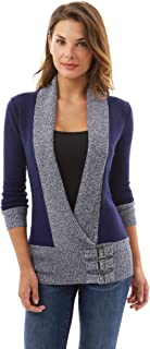 Best wrap sweater with buckle Reviews