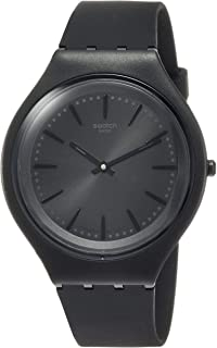 Skin Skinclass Black Dial Silicone Strap Unisex Watch...
