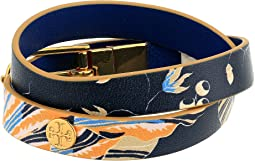 Happy Times Reversible Double Wrap Bracelet