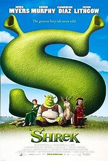 Shrek Mike Myers Eddie Murphy Cameron Diaz Original Single Sided Rolled 27x40 Movie Poster 2001