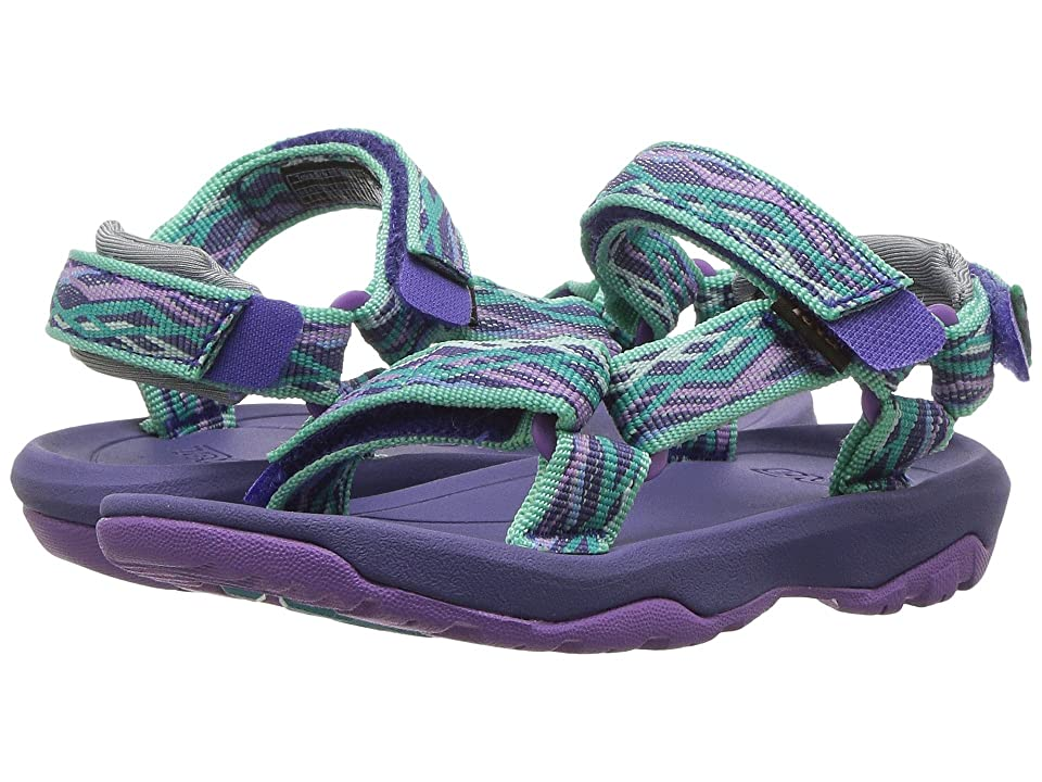 3291dccdbb65 Teva Kids Hurricane XLT 2 (Toddler) (Delmar Sea Glass Purple) Girls