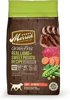 Merrick Grain Free Real Lamb + Sweet Potato Dry Dog Food