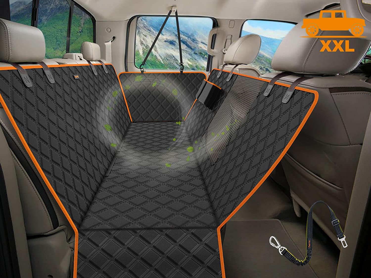 iBuddy Dog Seat Rare Cover for Trucks with Waterproo Discount mail order Mesh Window 100%