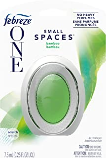 Febreze One Odor-Eliminating Small Spaces Air Freshener, Bamboo, 1 Count