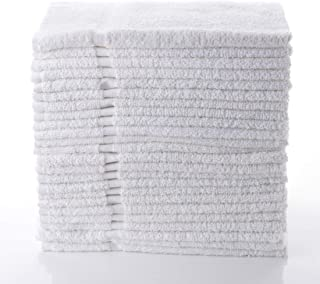 "Simpli-Magic 79149 Cotton White Hand Towels, 16""x27"", 12 Pack, 16"