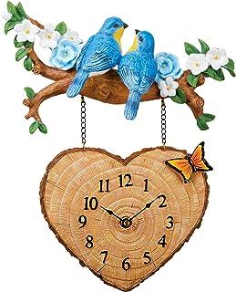 Amazon Com Wall Clocks Hearts Wall Clocks Clocks Home Kitchen