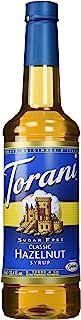 Torani Syrup, Sugar Free Classic Hazelnut, 25.4 oz