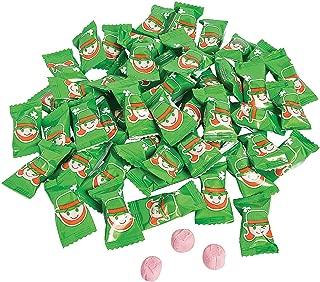 Fun Express - Leprechaun Sweet Creams for St. Patrick's Day - Edibles - Hard Candy - Sweet Creams & Hard Candy - St. Patrick's Day - 108 Pieces