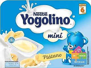 NESTLÉ YOGOLINO Mini, con Plátano, para bebés a partir de 6 meses