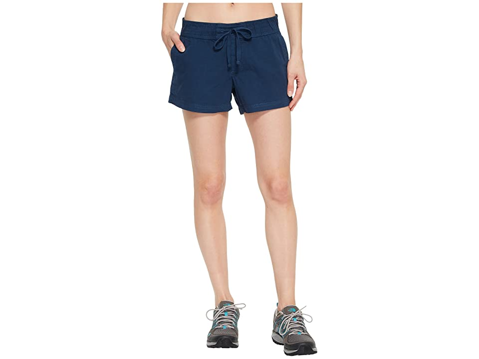 The North Face Basin Shorts (Blue Wing Teal) Women