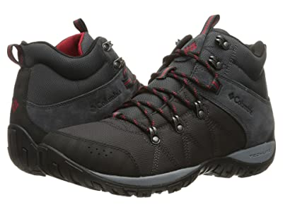 Columbia Peakfreak Venture Mid LT (Shark/Mountain Red) Men