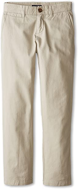 Flat Front Twill Pants (Big Kids)