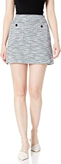 cupcakes and cashmere Women's Perseus High Waisted Multi Color Mini Skirt