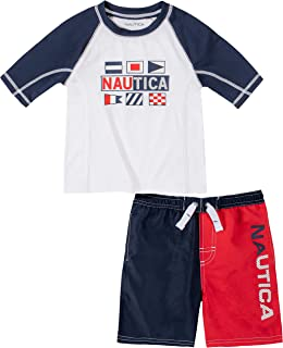 Nautica Sets (KHQ) Baby Boys' Swim Shorts Set