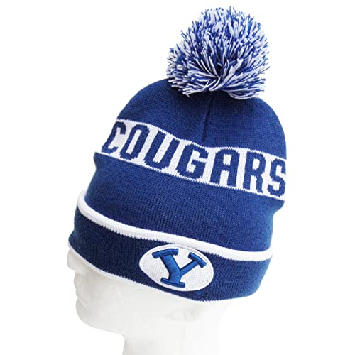 3cfdecbaee2 Donegal Bay NCAA BYU Cougars Pom Pom Knit Hat
