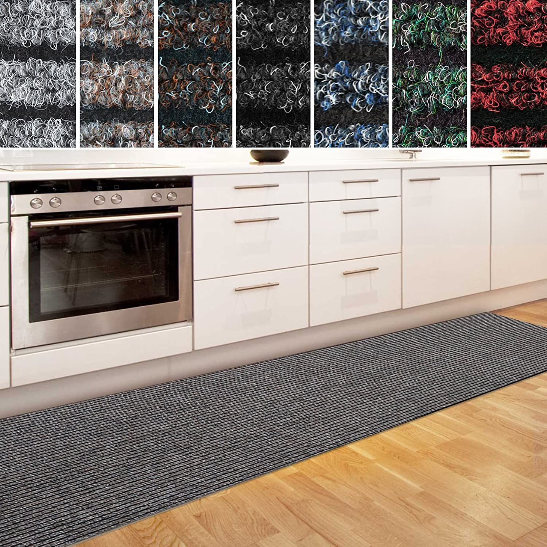 Casa pura Küchenläufer Granada in in in großer Auswahl   strapazierfähiger Teppich Läufer für Küche Flur UVM.   Rutschfester Teppichläufer Flurläufer für alle Böden (80x700 cm Beige) B073PB8K5Q 1d3419