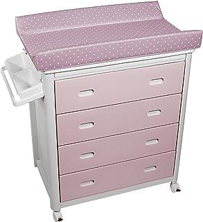 Plastimyr - Bañera cajones rosa TOPOS rosa