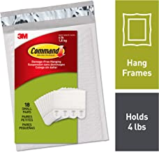 Command Picture Hanging Strips, Decorate Damage-Free, 18 pairs (36 strips), Ships In Own Container (PH202-18NA)