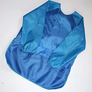 5-6 Years Old Children Waterproof Bib Anti-wear Blouse Long-sleeved Painting Eating Bib Unisex Baby Bibs (Color : L, Size...