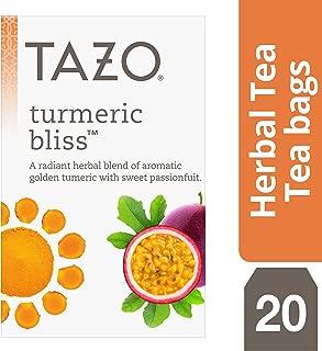 Tazo Turmeric Bliss Tea Bags Herbal Tea 20 ct