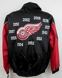 Black Medium 10-12 NHL Detroit Red Wings Youth Boys Recon Parka