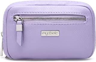 Myabetic James Diabetes Compact Case for Glucose Meter, Test Strips, Lancing Device and Lancets Includes Insulation Pocket - High Quality Compact Design (Lavender)
