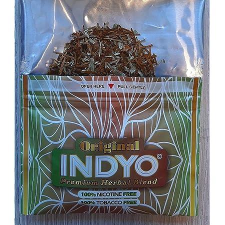INDYO Natural Smoking Mix 30g Sustitutivo Tabaco 100% Sin Nicotina