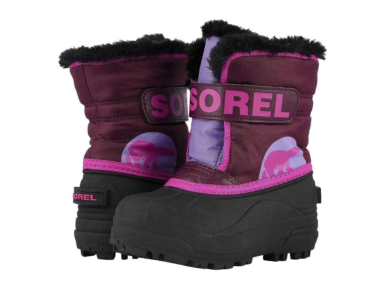SOREL Kids Snow Commander (Toddler/Little Kid)Economical and quality shoes