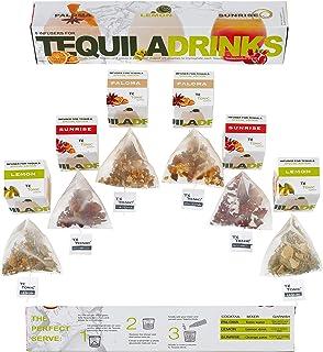 Te Tonic Experience Nanopack Tequila specerijen & kruiden geschenkdoos - Geschenkset 6 infusions, 3 smaken