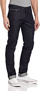 Men's Weird Guy Midrise Tapered-Leg Jean In Indigo Selvedge