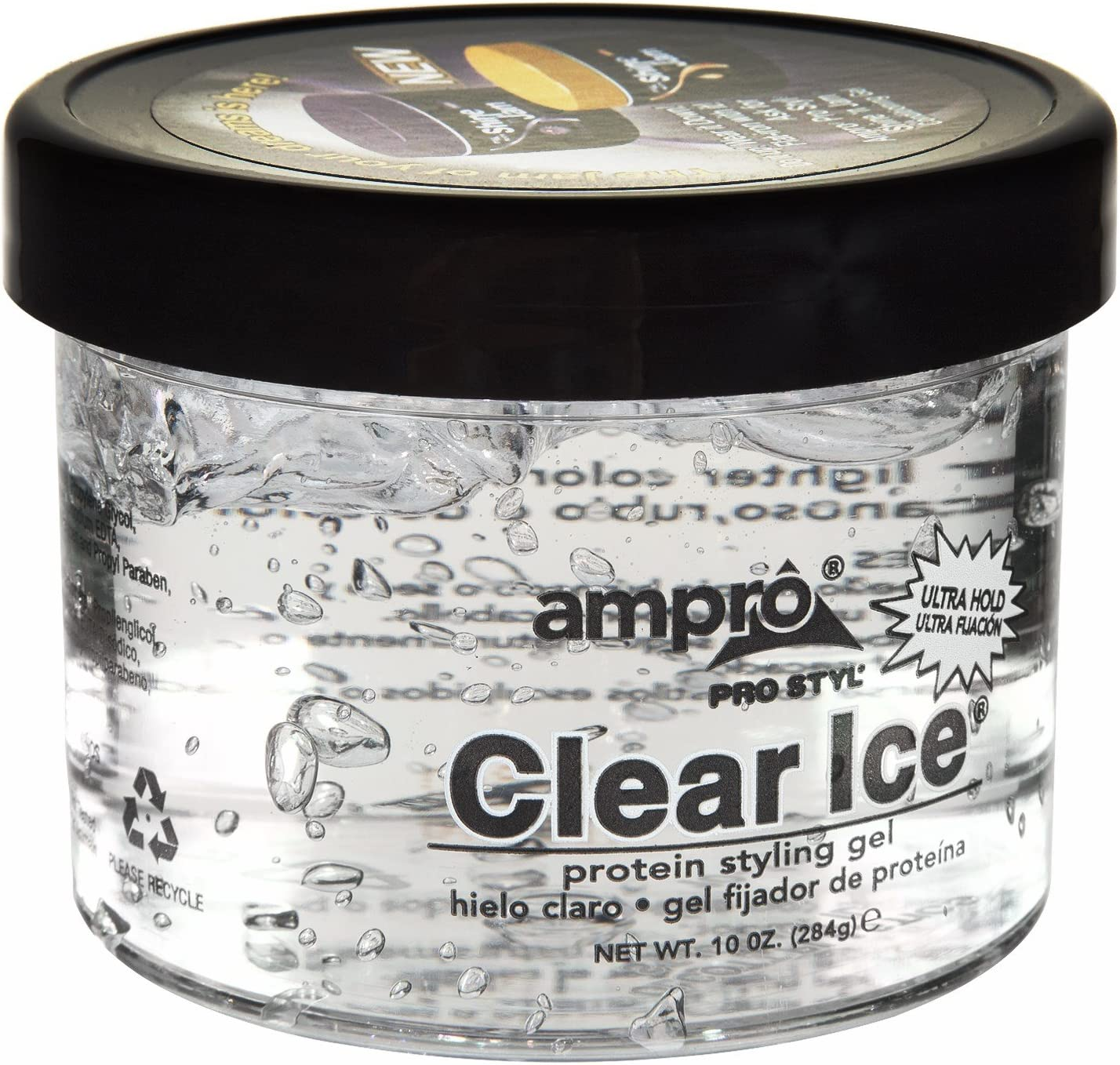 thebestton Ampro Clear Ice Cheap super Max 87% OFF special price Gel Ultra Styling H Protein
