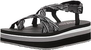 Women's Whippit-Glastonbury-Toe-Thong Slingback Platform Sandal