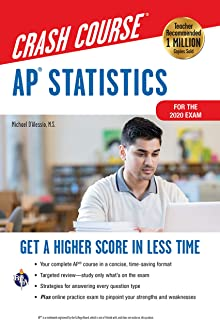 Ap(r) Statistics Crash Course, Book + Online: Get a Higher Score in Less Time
