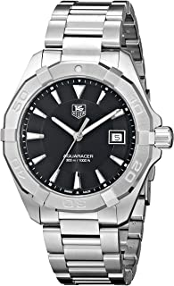 TAG Heuer Mens WAY1110.BA0910 300 Aquaracer Stainless Steel Watch