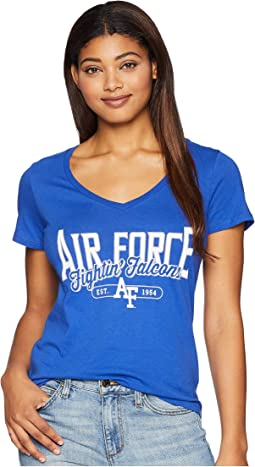 Air Force Falcons University V-Neck Tee
