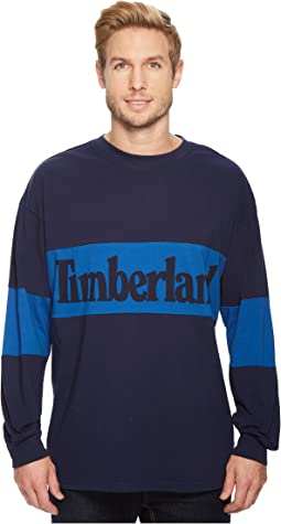 Warner River Long Sleeve Retro Oversized Tee
