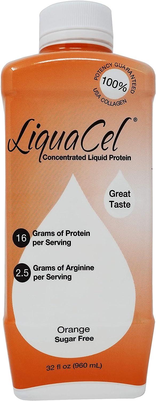 Liquacel Liquid Protein Sugar Free Flavor Orange Wholesale Department store 32oz