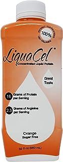 Liquacel Liquid Protein Sugar Free 32oz Orange Flavor
