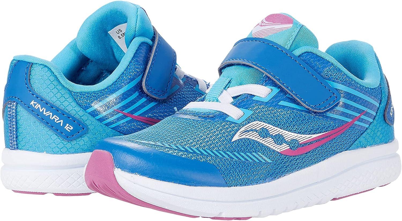 Saucony Kinvara discount 12 JR Running Shoe US Pink Unisex Miami Mall 6 Wide Blue