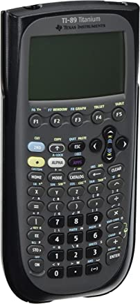 $126 » TEXTI89TITANIUM - Texas Instruments TI-89 Titanium Programmable Graphing Calculator