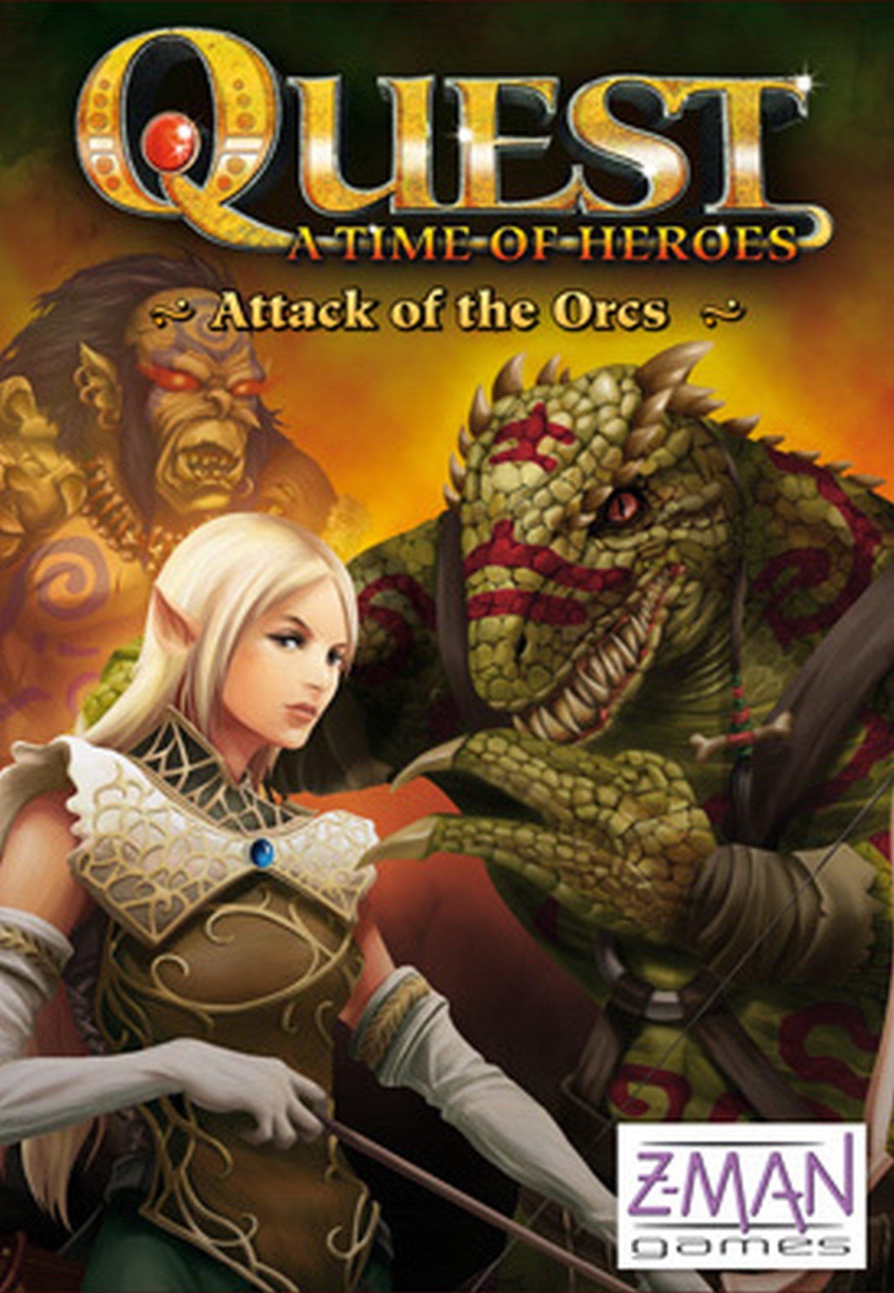 Quest Attack of the Orcs - Quest: A Time of Heroes (versión en inglés): Amazon.es: Juguetes y juegos