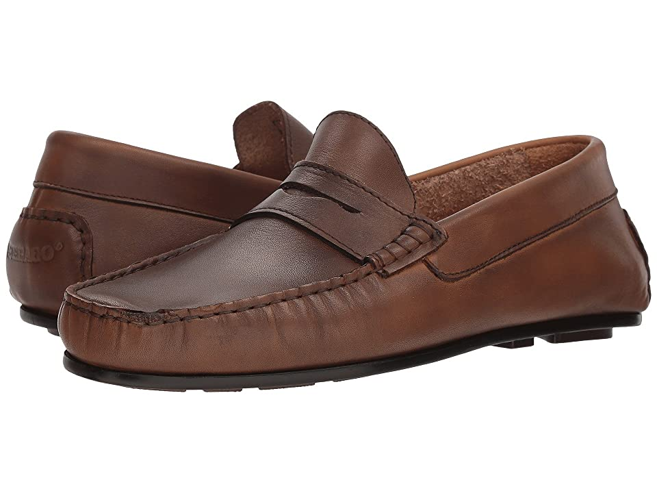 Sebago Tirso Penny (Tan Leather) Men
