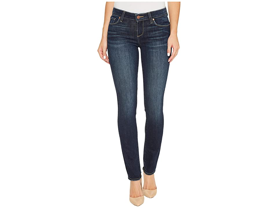 Paige Skyline Ankle Peg in Henley Distressed (Henley Distressed) Women's Jeans, Blue