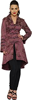 Hearts & Roses Midnight Stroll Coat in Purple (Shipped from The US and US Sizes)