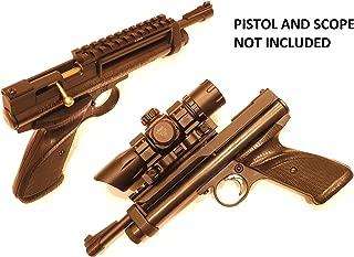 Custom Scope Mount Picatinny Weaver Rail Kit for Crosman 2240 Pellet Gun